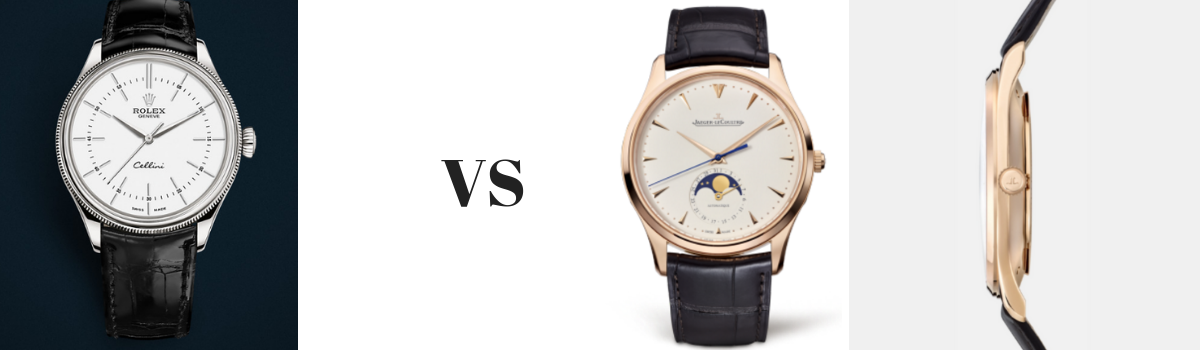 Rolex cellini Vs Jaeger-LeCoultre