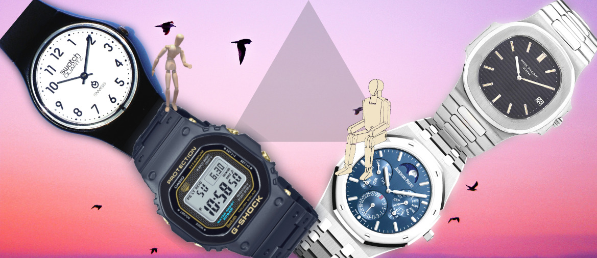 collecting watches bussines or hobby